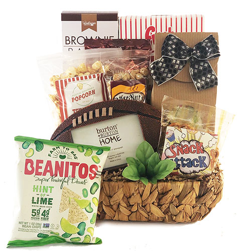 Image 0 of Football Frenzy: Sports Gift Basket