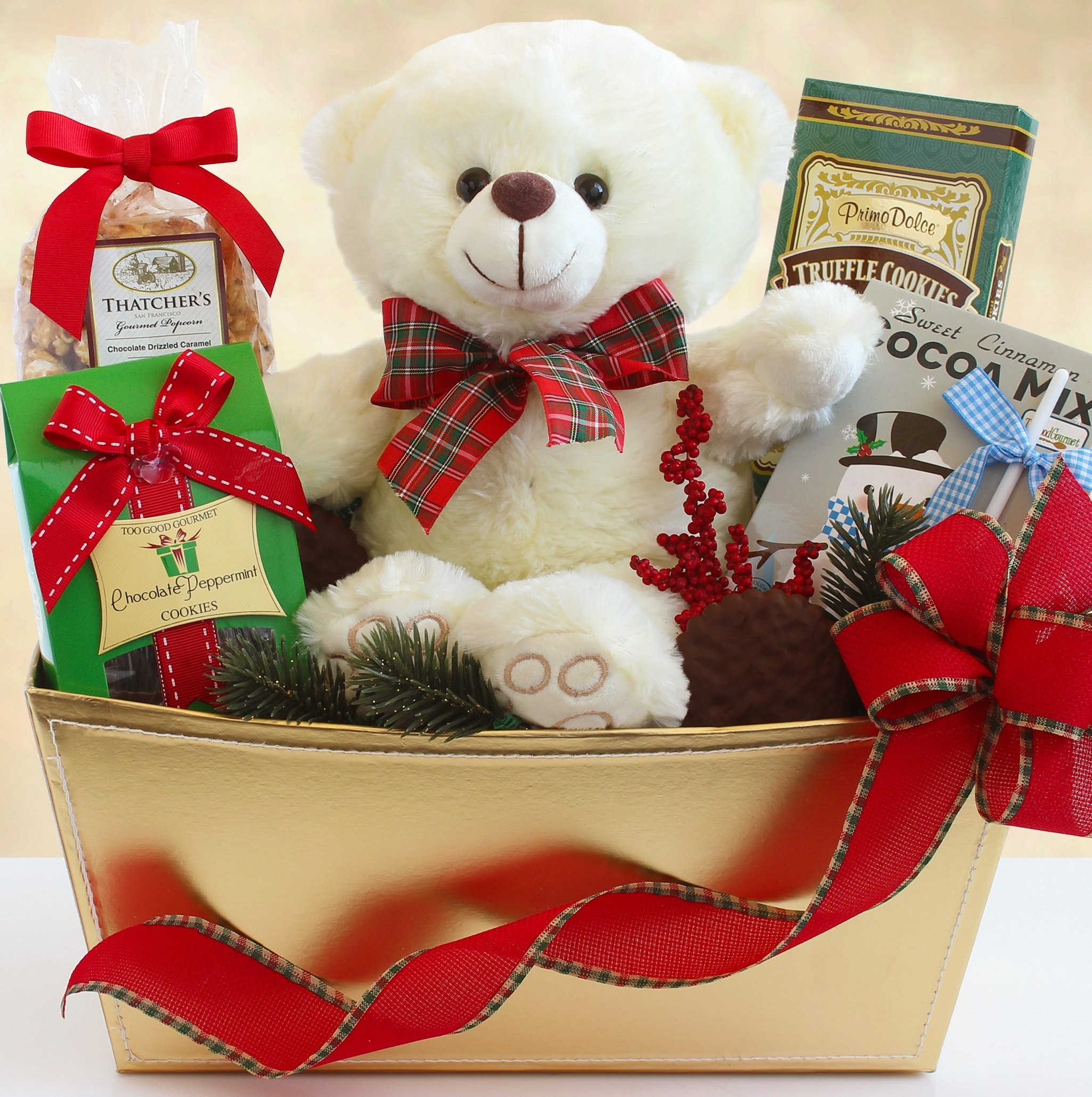 Beary & Bright: Holiday Gift Basket