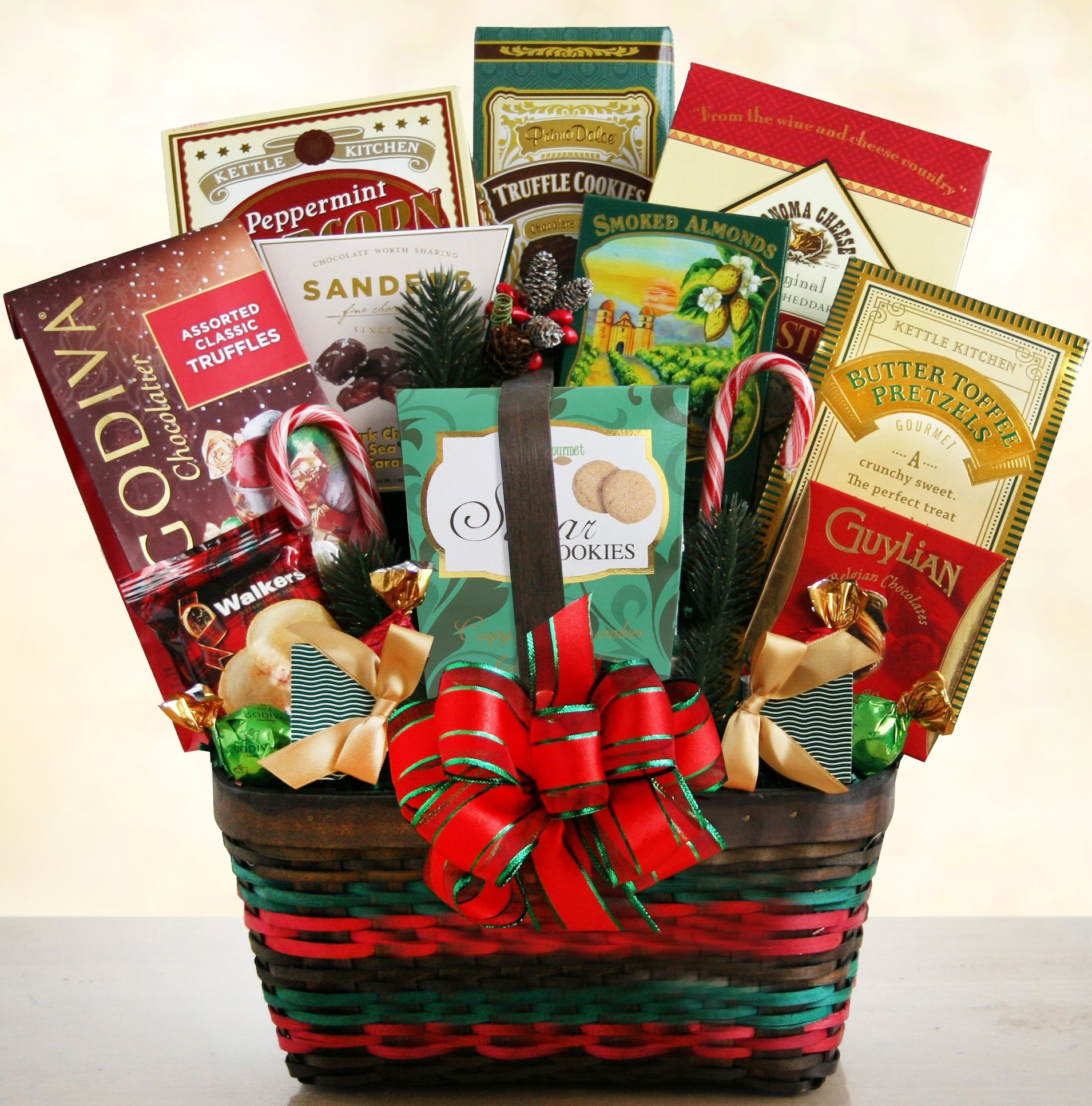 Image 0 of Christmas Wishes: Gourmet Holiday Gift Basket