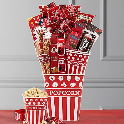 Image 0 of Movies! Movies! Movies!: Gourmet Snack Gift Basket