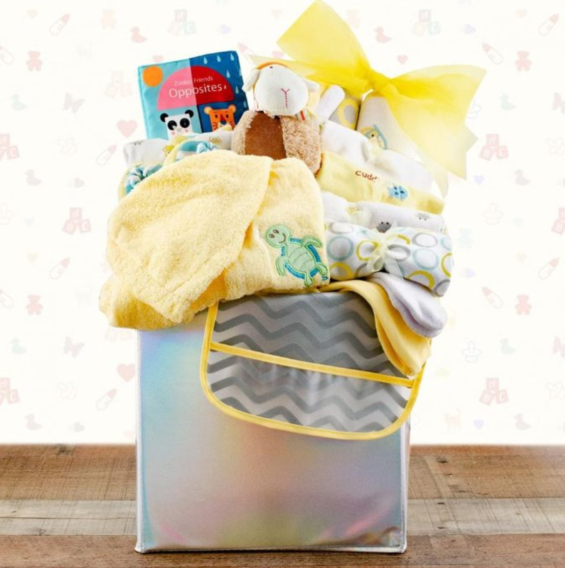 Image 0 of Baby's First Wardrobe: New Baby Gift Basket