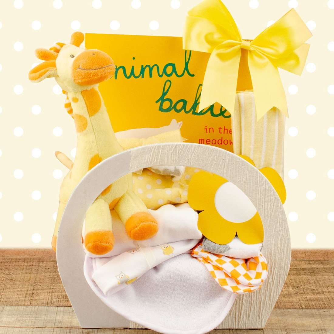 Image 0 of Baby Essentials: New Baby Gift Basket