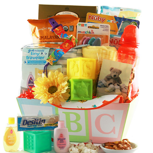 Image 0 of Precious Baby: Baby Gift Basket - Choose Boy, Girl or Neutral