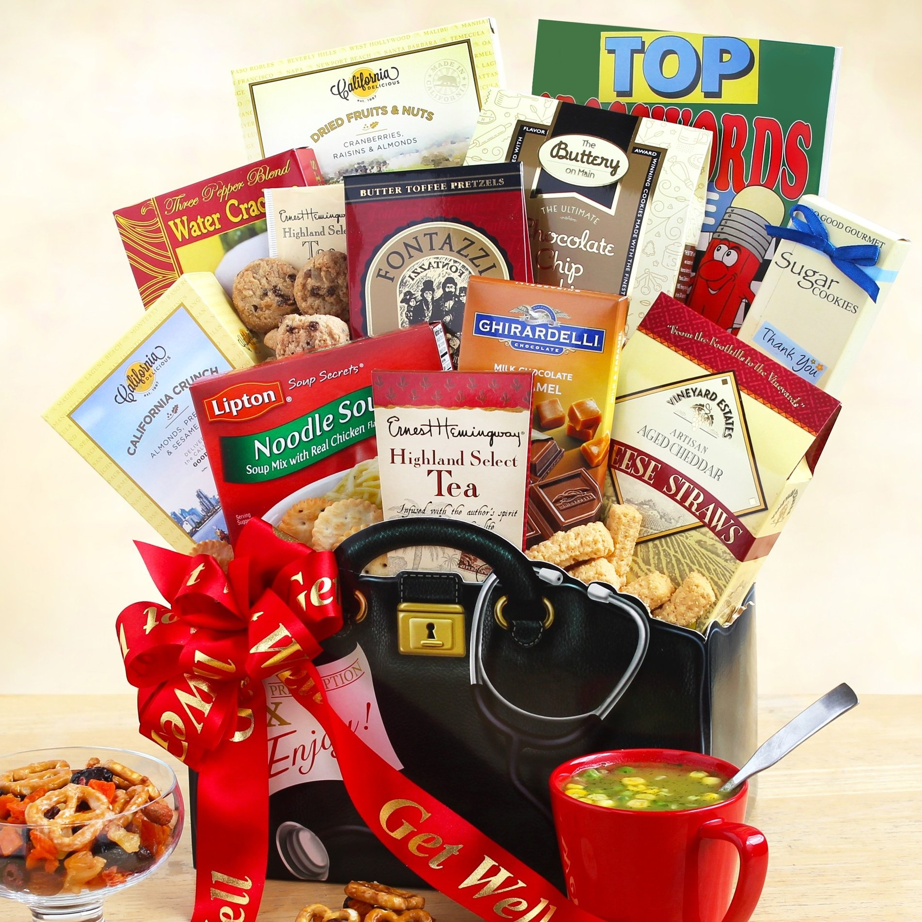 Image 0 of Just What The Doctor Ordered: Get Well Gift Basket