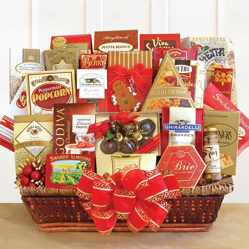 Image 0 of Seasonal Extravaganza: Holiday Gift Basket