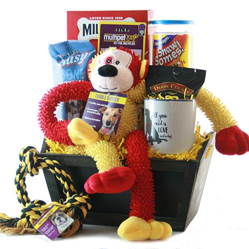 Image 0 of Pampered Pooch: Pet Dog Gift Basket
