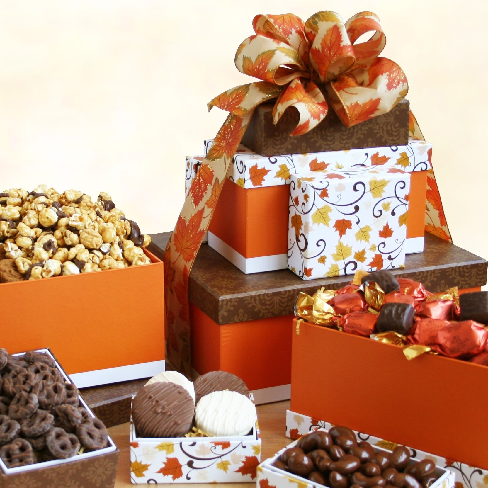 Image 0 of Autumn Sweets: Gourmet Gift Tower