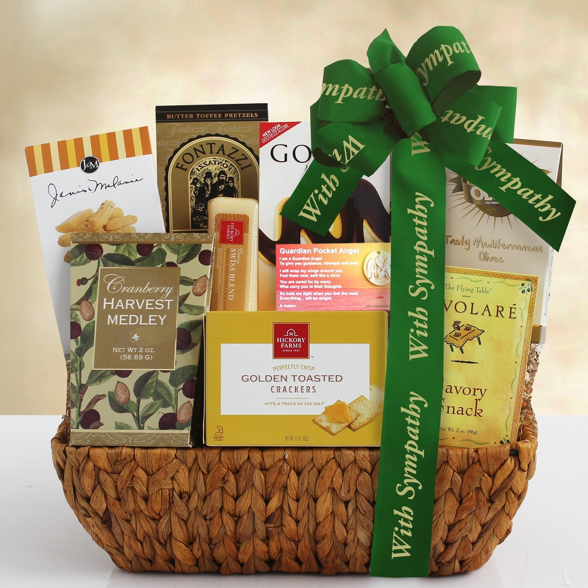 Image 0 of With Deepest Sympathy: Sympathy Gift Basket