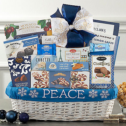 Image 0 of Peace on Earth: Holiday Gift Basket