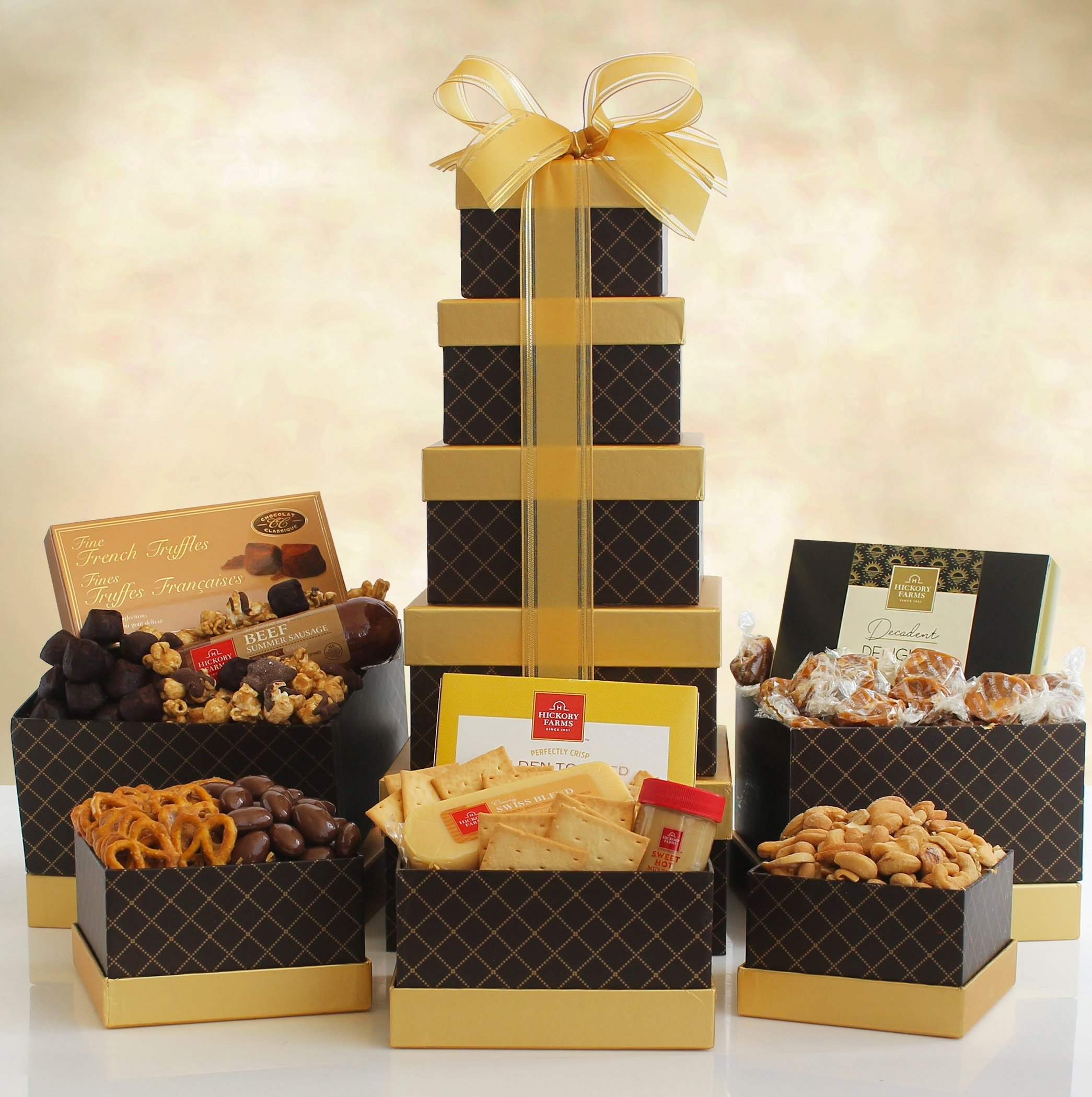 Image 0 of Signature Snacks: Gourmet Gift Tower